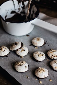 Hazelnut Cloud Cookies