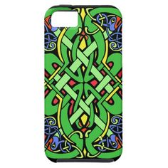 Shop Colorful Ornate Irish Celtic Knot Case-Mate iPhone Case created by artbymar.