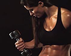6 Reasons Women Should Strength Train Like Men - Photo by: Shutterstock http://www.womenshealthmag.com/fitness/reasons-women-should-strength-train