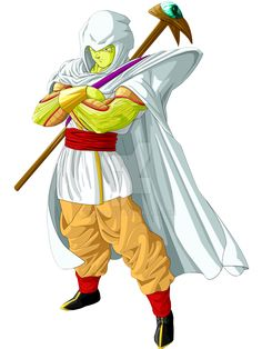Note me for the backround story on this mysterious Namekian...there's a reason his skin is different from regular Namekians just to let yall know. Here's the to read DragonBall: Honor Trip My Team ...