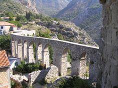 Stari Bar aqueduct, Montenegro