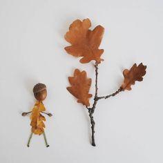 """""""Petite promenade en forêt""""  #flowleaf2015 #foret #feuilles #nature #leaves #art #forest"""