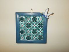 Romanian traditional tapestry cross stitch by CamisTheCrossStitch