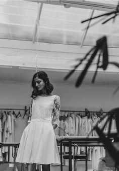 Robe pour mariage civil 2017 Laure de Sagazan