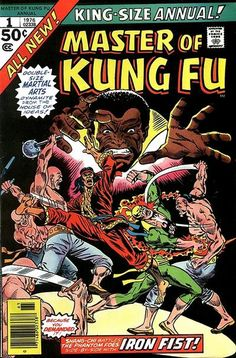 Master of Kung Fu Annual # 1 by Rich Buckler & Frank Giacoia
