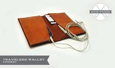 3 Pocket Travelers Wallet.