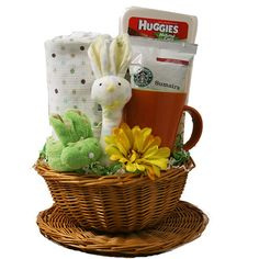 Welcome Baby Gift Basket Baby Gift Basket