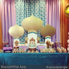 "REPOST FROM @opopsbyangie: ""Amazing dessert station designed/styled by Lilly @iheartsugarsugar. Her hands create magic every time! Desserts by @cakesbyrc @sweetdoughcookies @sugarloafbrigaderia & me @opopsbyangie 😉"""