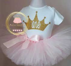 Check out this item in my Etsy shop https://www.etsy.com/ca/listing/288954167/princess-crown-birthday-outfit-1st
