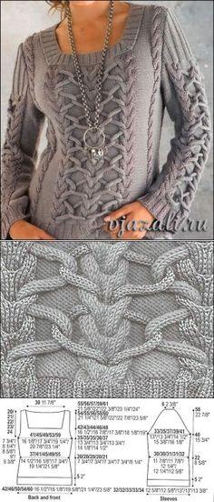 lady knit sweater