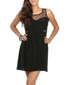 Illusion Dot Skater Dress : http://www.wetseal.com/catalog/product.jsp?categoryId=111=217=60387