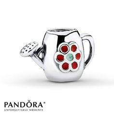 Pandora Watering can - one of only four sideways charms as at june 2013. Do you know the other three? Ask Pandora Superfan!