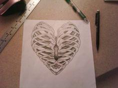 Heart bone