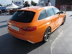 Cars & Life: Goodwood Festival of Speed: Orange Audi RS4 Avant