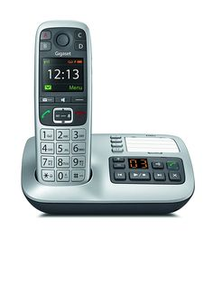 Gigaset E560A Téléphone DECT sans fil Argent: