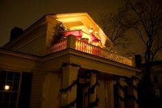 Holiday Nights in Greenfield Villagesanta