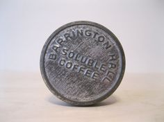 Antique Barrington Hall Soluble Coffee Tin by Suite22 on Etsy, $20.00