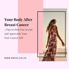 Breast cancer surgery can change the way your body looks and feels. It can also change how you feel about your body, and yourself. Here are three things you can do to get more comfortable with your post-cancer body and learn to accept and appreciate yourself as a breast cancer survivor. #breastcancerawareness #breastcancer #breastcancersurvivor #breastcancerwarrior #cancer #survivor #womenshealth #health #pinkribbon #cancercommunity #ROCSI #DrSerrurier #DrCharlesSerrurier Breast Cancer Support, Breast Cancer Survivor, Breast Cancer Awareness, Cancer Fighter, Plastic Surgery, Advice, Health Tips, Feels, Change