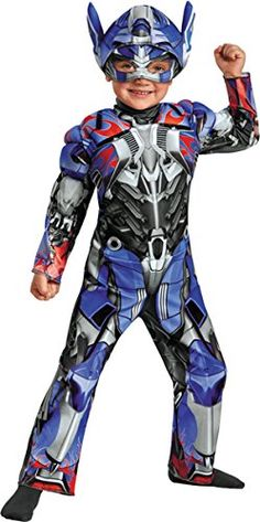 Optimus Prime Muscle Costume  Toddler Medium