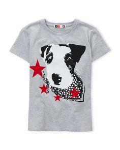 Msgm (Boys 8-20) Dog Graphic T-Shirt