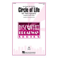 Hal Leonard Circle of Life (with Nants' Ingonyama) VoiceTrax CD by Elton John Arranged by Audrey Snyder