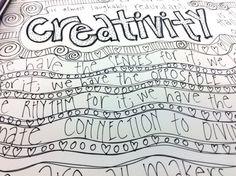 CREATIVITY is the hallmark of our species by HandyGalStudios