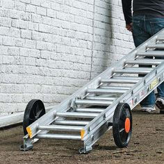 Make Your Ladder Easy to Move   My Home My Style eNotes