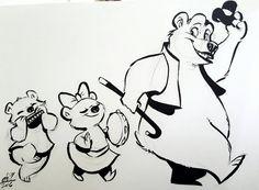 Bear-ade by basakward on DeviantArt