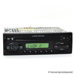 Land Rover CD Radio mit CODE, falls nötig ist! Besuchen Die uns im Shop.
