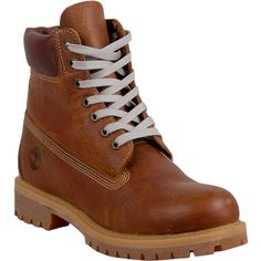 Timberland Vintage Pond Hockey Men's Lace Up Boot ($190) ❤ liked on Polyvore featuring men's fashion, men's shoes, men's boots, brown, mens lace up boots, mens rugged boots, mens shoes, timberland mens boots and mens leather shoes