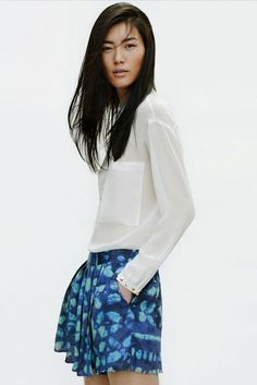 Liu Wen for Zara | Vogue DE