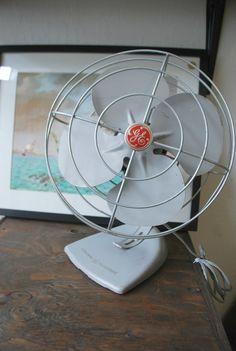 GE vintage fan by Mascotvintage on Etsy, $50.00