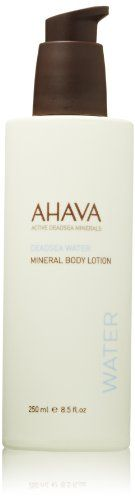 AHAVA Dead Sea Water Mineral Body Lotion -- Click affiliate link Amazon.com on image for more details.