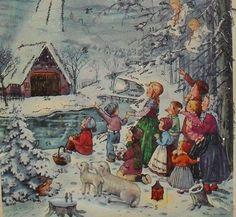 Alter Adventskalender - WEIHNACHTSSTERN - FABIG-DISTLING, Haco 0240 | eBay