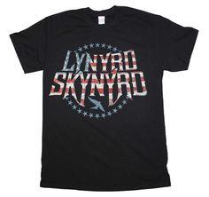Lynyrd Skynyrd Stripes and Stars Logo T-Shirt