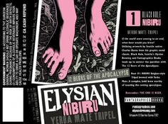 Fantagraphics, Elysian and Charles Burns Serve Up 12 Beers of the Apocalypse - Fantagraphics Beer Brewing, Home Brewing, Elysian Brewing, Belgian Style, Bottle Shop, Yerba Mate, Beer Festival, Brewing Company, Buy Tickets