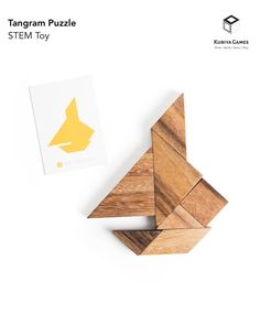 The Tangram puzzle set is a wonderful mathematical game that helps build critical thinking skills and understanding of geometry, making this a perfect puzzle/game for all ages and skill levels.