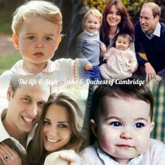 The Duke & Duchess of Cambridge with Prince George and Princess Charlotte