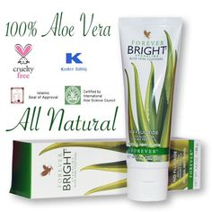 Forever Bright Toothpaste - Flouride FREE