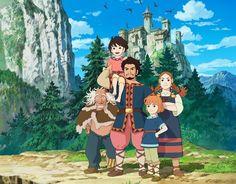Ronja, The Robber's Daughter (Studio Ghibli trailer).