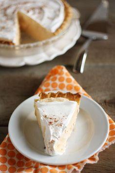 Pumpkin chiffon pie, Chiffon and Recipe ideas on Pinterest