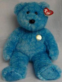 NEW- TY Beanie Buddy Bear -