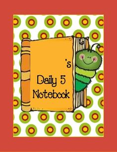 Students use folders or binders with the following papers, and one sheet protector (to help organize the word work section, to keep all of their Da...