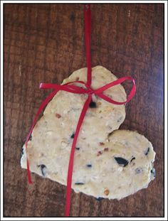 Bird seed cookies-our birds loved them last year!