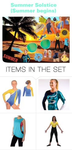 """""""Summer has started!"""" by dancemania-biz ❤ liked on Polyvore featuring art"""