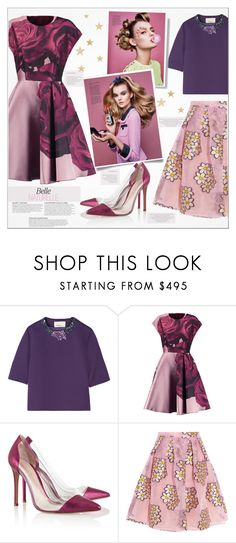 """""""♠ Left or right?"""" by paty ❤ liked on Polyvore featuring 3.1 Phillip Lim, Giambattista Valli, Gianvito Rossi, RED Valentino and KAROLINA"""