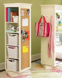 Click Pic for 40+ Storage Ideas for Small Spaces | Pivot Wardrobe Storage | DIY Home Organization Ideas  Hacks
