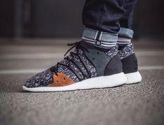 Adidas EQT 33 F15 PK Statement Primeknit Black Grey Brown (4)
