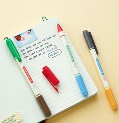 Twin Color Pen Set