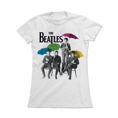 d93977ac8 Camiseta The Beatles Umbrella Colors